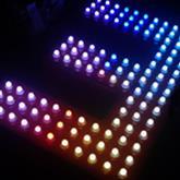 Waterproof rgb led pixel light
