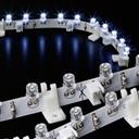 LED Light Bar Vertical Stripe White 12V